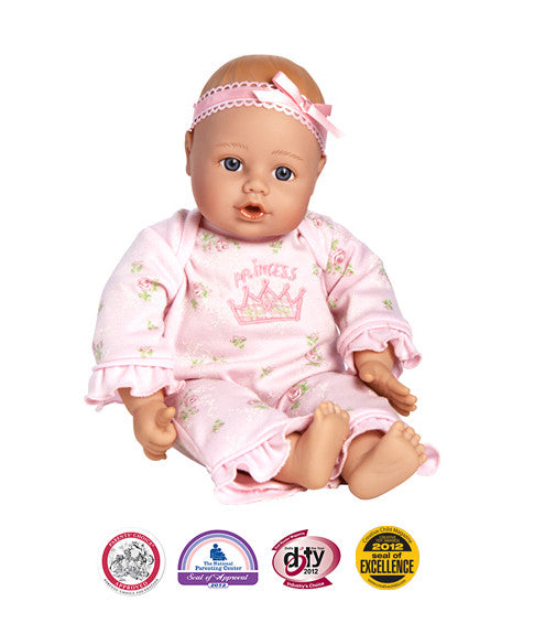 Little Princess Playtime Baby Doll- Lt Skin/Blue Eyes