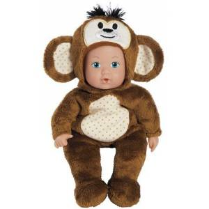 Adora Safari Time Baby Doll-Monkey