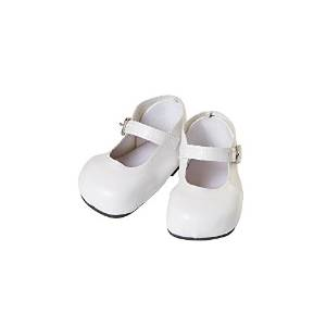 Adora Baby Doll Shoes-Mary Jane-White