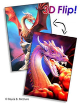300 Piece Flip Jigsaw Puzzle- Dragon