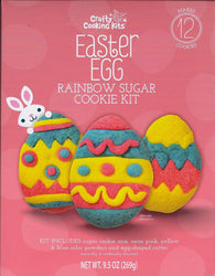 Rainbow Easter Egg Sugar Cookie Kit