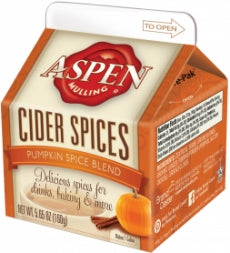 Aspen Pumpkin Spice Cider Spices Blend, Carton