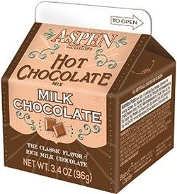 Aspen Milk Chocolate Mix, 3.5oz Carton