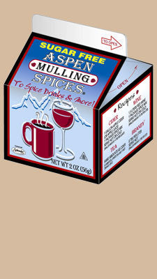 Aspen Sugar-Free Mulling Spices, 2oz carton