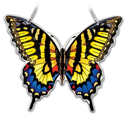 Large Swallowtail Butterfly Suncatcher 7 inch
