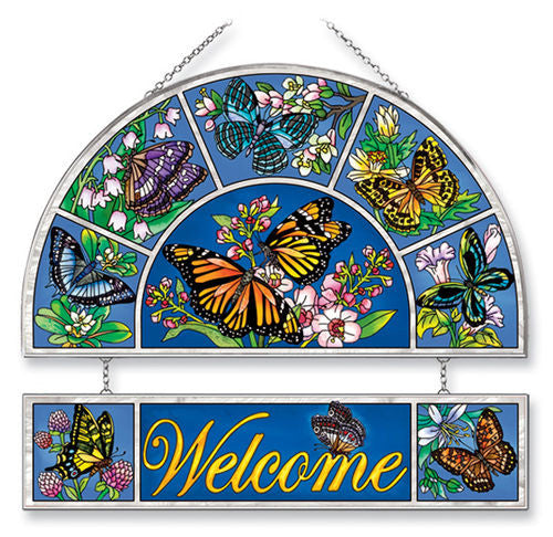Welcome Panel Butterflies Kisses