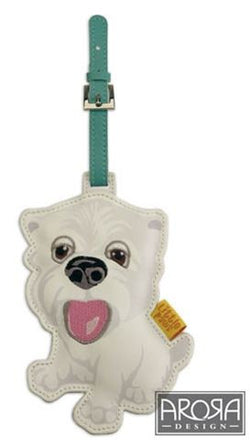 Arora Designs Little Paws Luggage Tags-West Highland White Terrier