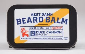 Duke Cannon Best Damn Beard Balm - Freedom Day Sales
