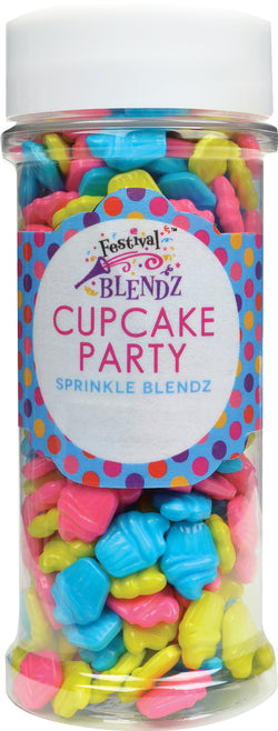 Cupcake Party Sprinkle Blend Cake Decoration