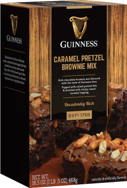 Guinness Caramel Pretzel Brownie Mix