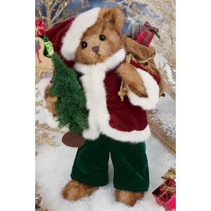 Bearington Bears 2012 Holiday Musical Limited Edition Kris Kringleton