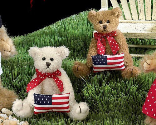 Bearington Bears The Free and the Brave Bears Set of 2