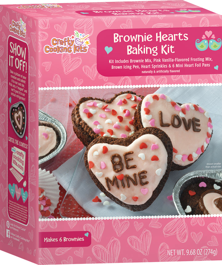 Crafty Cooking Kits Brownie Hearts Baking Kit