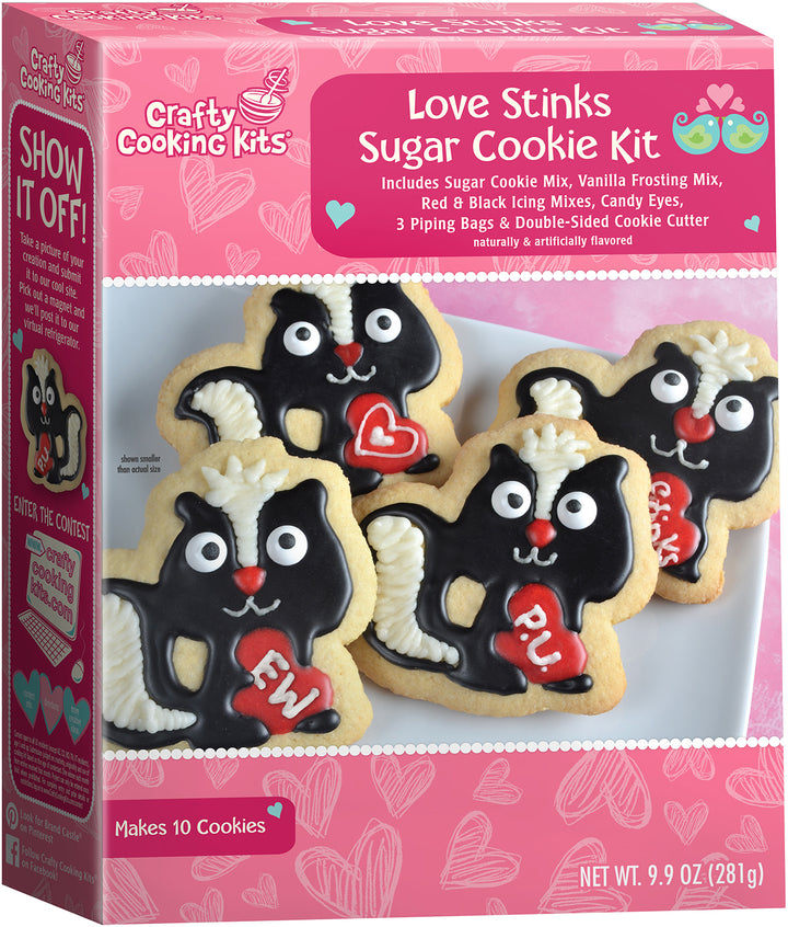 Crafty Cooking Kits Love Sticks Sugar Cookie Kit