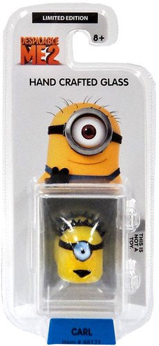 Despicable Me 2 Glassworld Minion Hand Crafted Glass - Carl