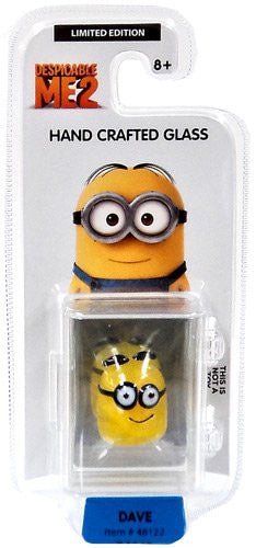 Despicable Me 2 Glassworld Minion Hand Crafted Glass - Dave
