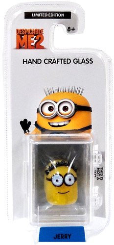 Despicable Me 2 Glassworld Minion Hand Crafted Glass - Jerry