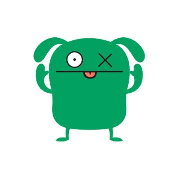 Uglydoll Nylon OX Kite