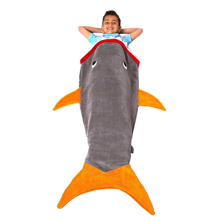 Kid Size Shark Tail- Orange