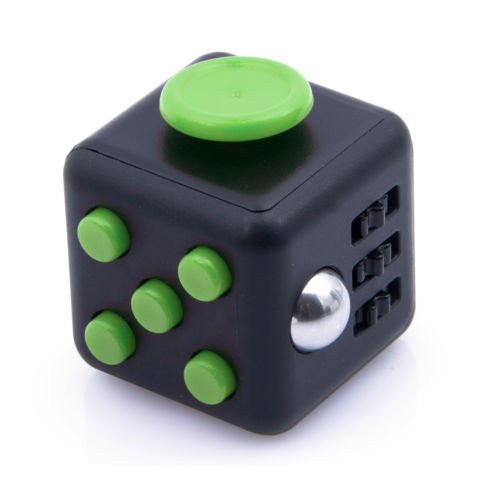 Fidget Cube- Black Green