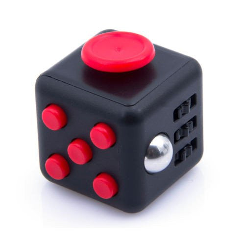 Fidget Cube- Black Red