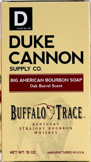 Duke Cannon Big American Bourbon Soap-Oak Barrel Scent