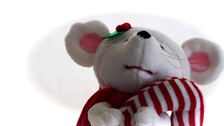 Cuddle Barn Animated Musical Christmas Felix the Mouse