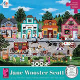 300 Piece Oversize Jane Wooster Scott Puzzle- Happy Go Lucky