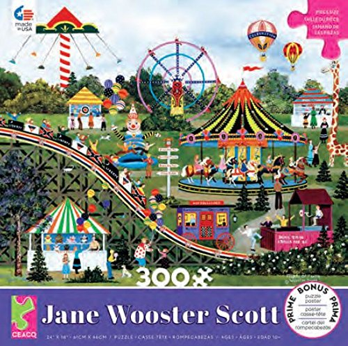300 Piece Oversized Jane Wooster Scott Puzzle- Flights of Fancy