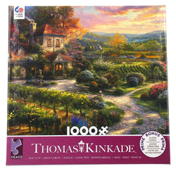 1000 Piece Thomas Kinkade Puzzle-Wine Country Living