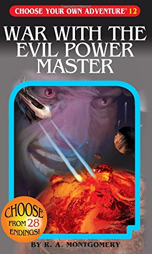 Choose Your Own Adventure Book-War with the Evil Power Master#12