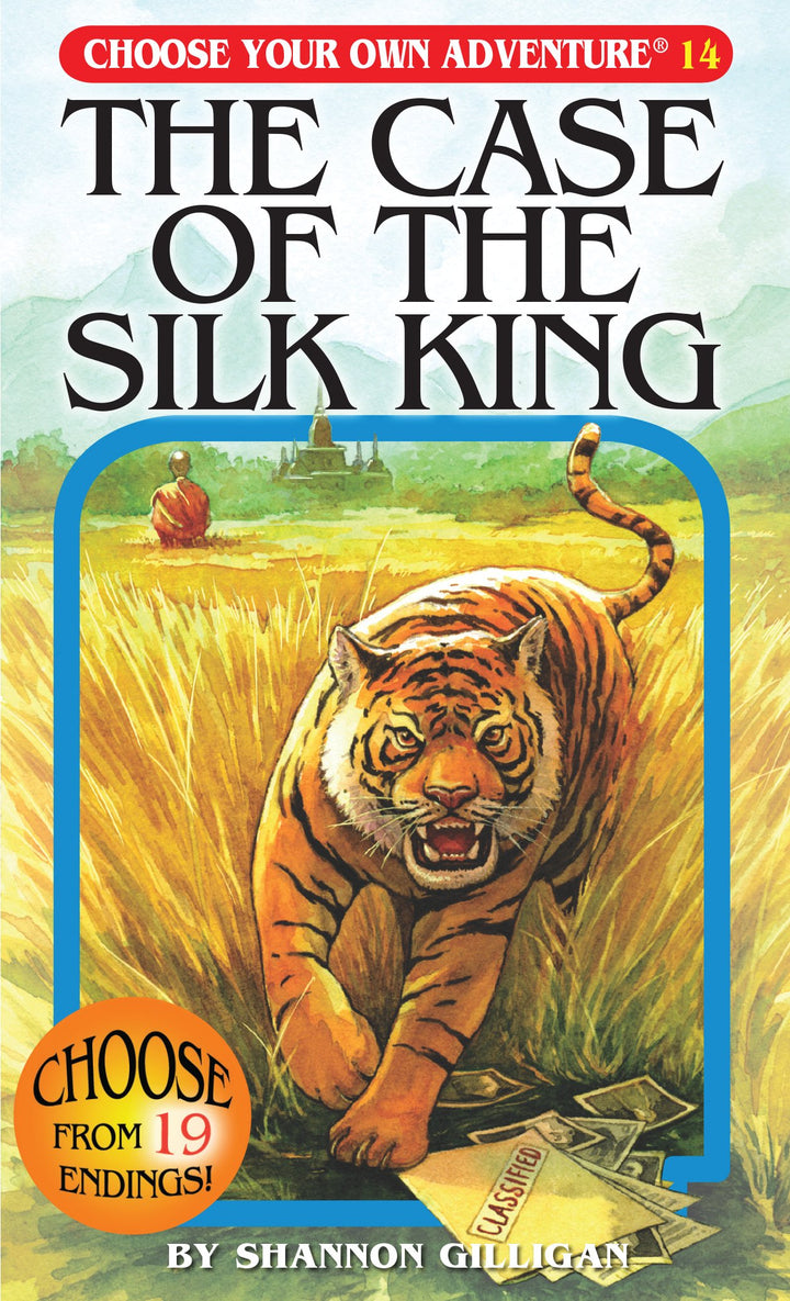 Choose Your Own Adventure Book-The Case of the Silk King#14