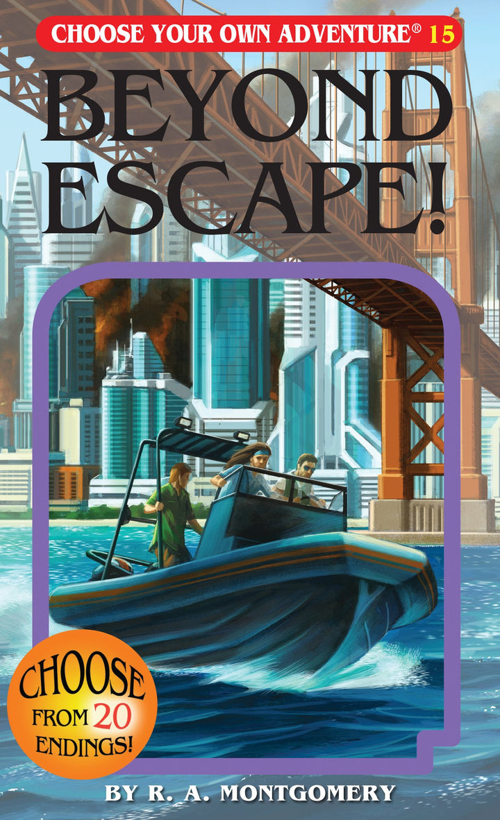 Choose Your Own Adventure Book-Beyond Escape! #15