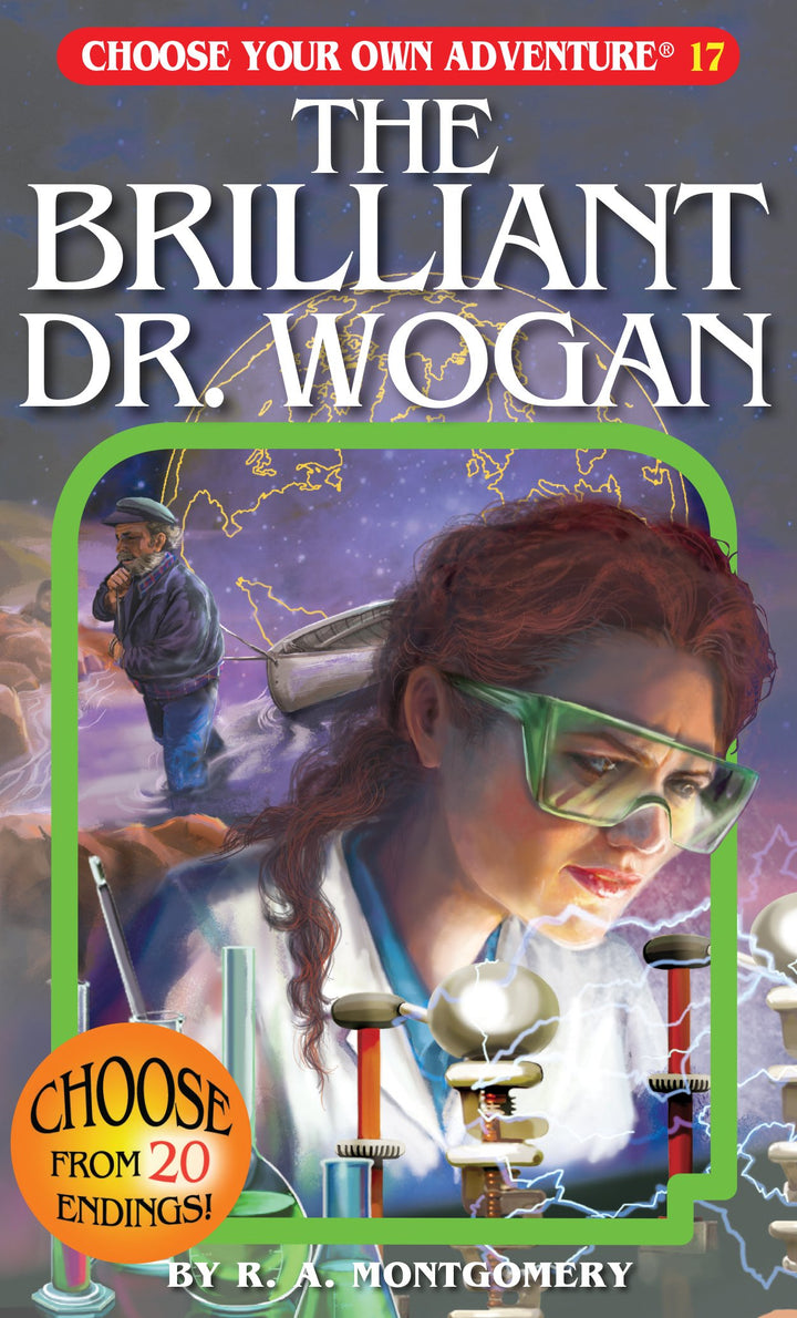 Choose Your Own Adventure Book-The Brilliant Dr Wogan #17