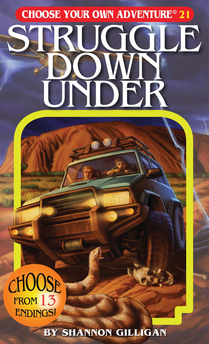 Choose Your Own Adventure Book-Struggle Down Under#21