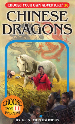 Choose Your Own Adventure Book-Chinese Dragons #30