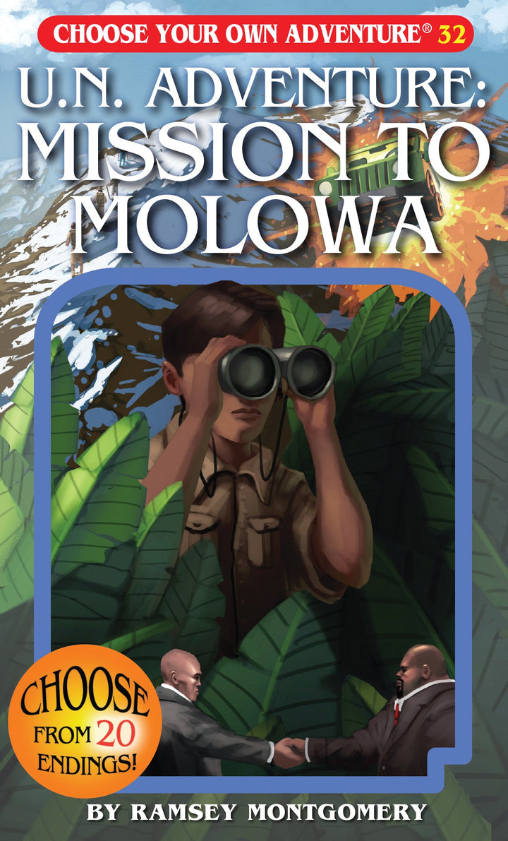 Choose Your Own Adventure Book-UN Adventure: Mission to Molowa