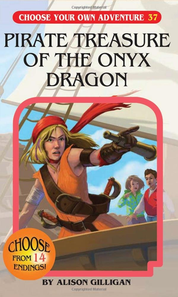 Choose Your Own Adventure-Pirate Treasure of the Onyx Dragon