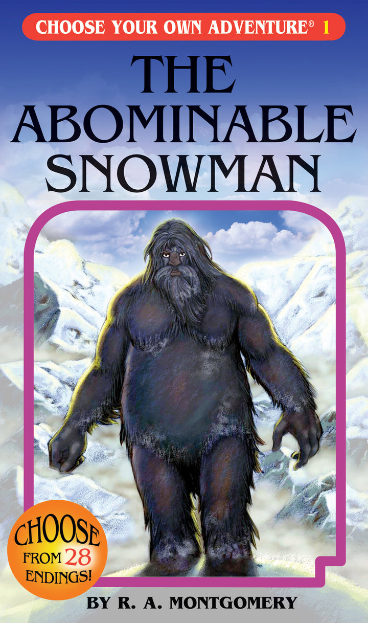 Choose Your Own Adventure Books-The Abominable Snowman #1