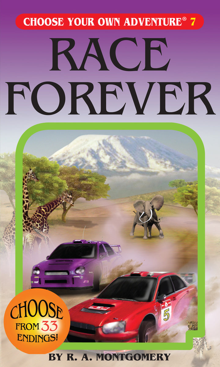 Choose Your Own Adventure Book-Race Forever