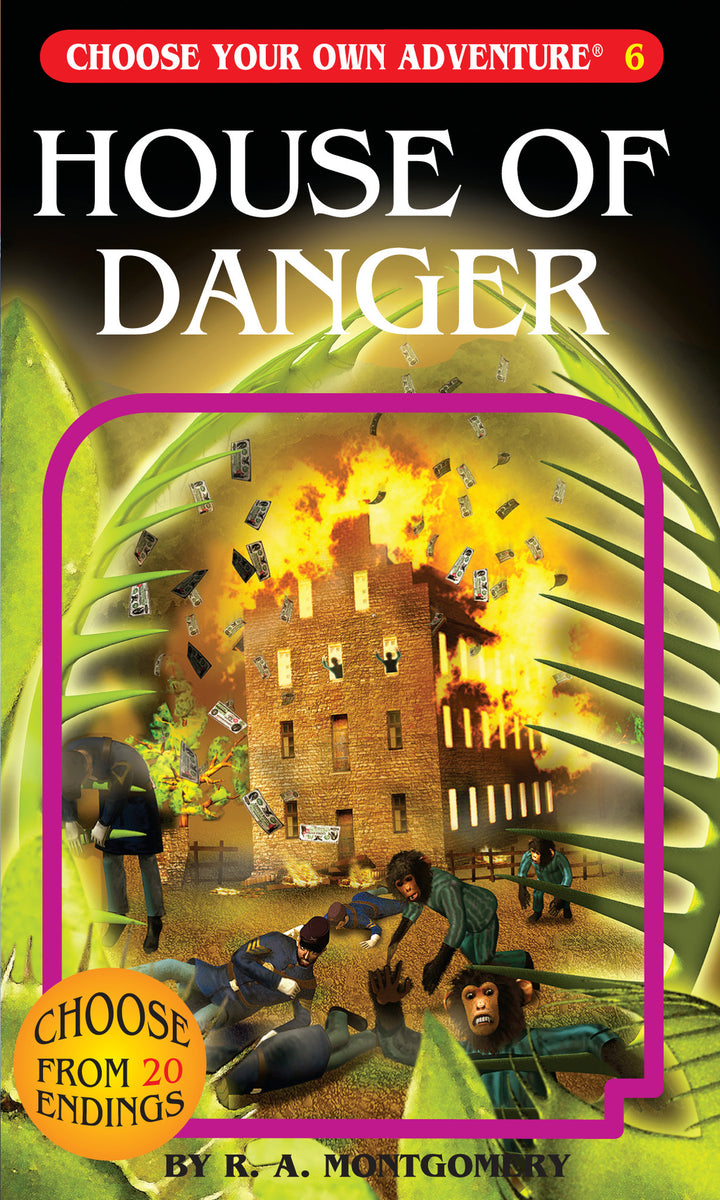 Choose Your Own Adventure Book-House of Danger