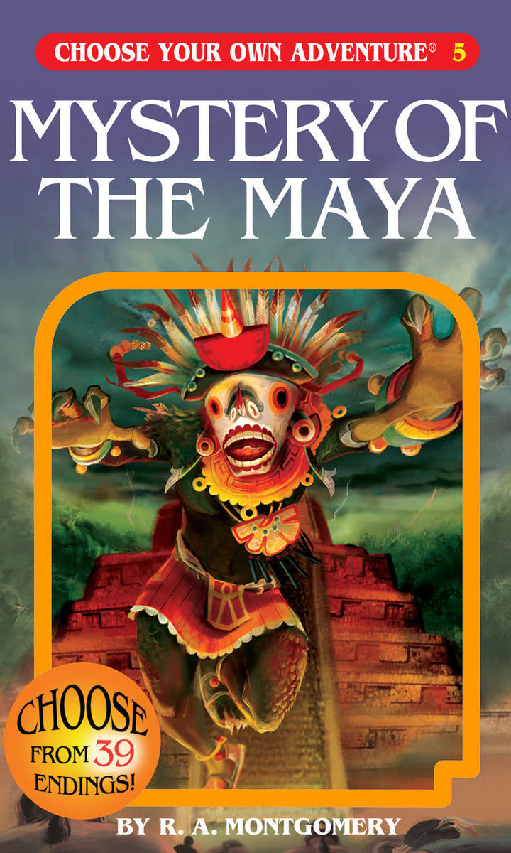 Choose Your Own Adventure Book-Mystery of the Maya