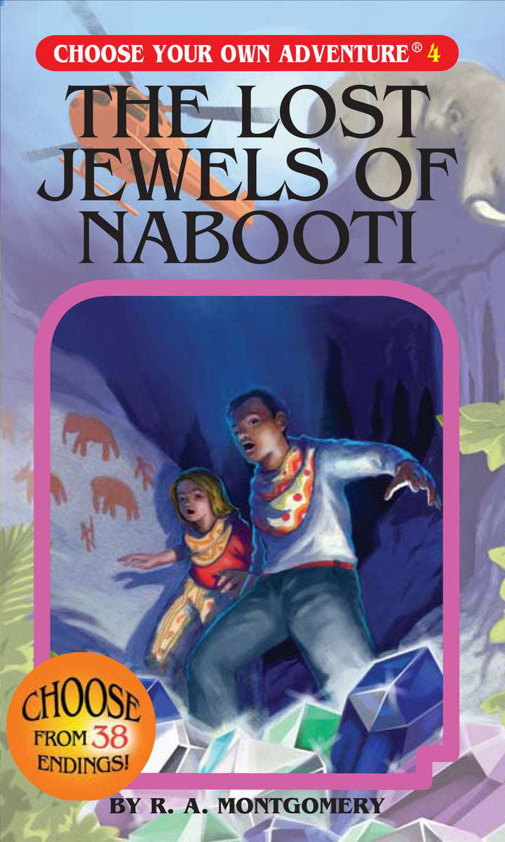 Choose Your Own Adventure Book-The Lost Jewels of Nabooti