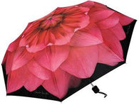 Harold Feinstein Dahlia Collapsible Umbrella - pink