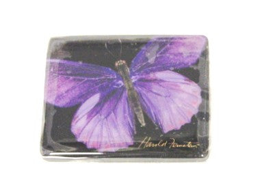 Harold Feinstein Butterfly Magnets- Purple