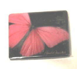Harold Feinstein Butterfly Magnets- Pink