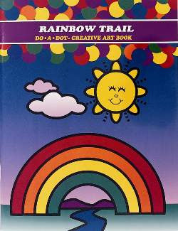 Rainbow Trail Creativity and Activity Book