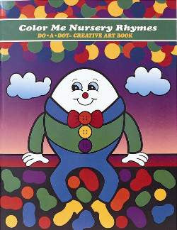 Color Me Nursery Rhymes Creative Activity Book