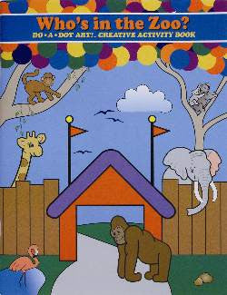 Who's in the Zoo? Creativity and Activity Book