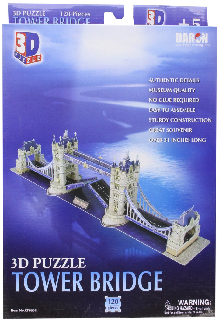 London Tower Bridge 3 D Puzzle
